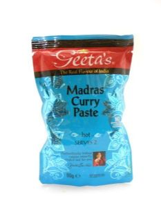 Geeta's Madras Curry Paste | Buy Online at the Asian Cookshop